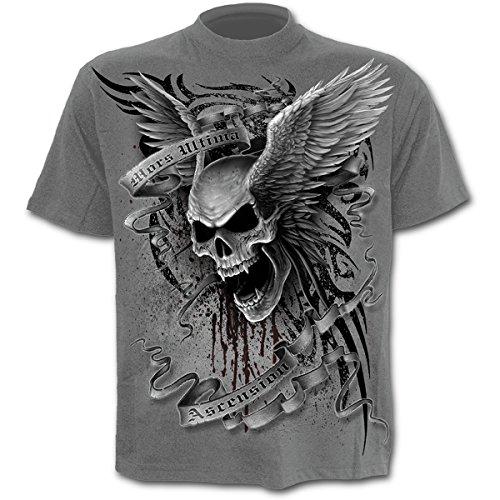 Spiral Ascension T - Shirt - Unisex, grau (Skelett Tank Top)