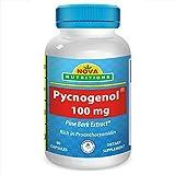 Nova Nutritions Pycnogenol 100 mg 60 Capsules by Nova Nutritions