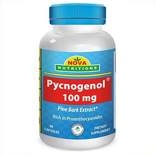 Nova Nutritions Pycnogenol 100 mg 60 Capsules