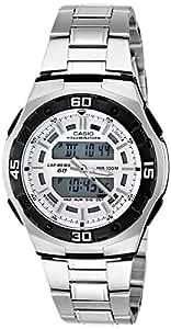 Casio Youth Analog-Digital Silver Dial Men's Watch - AQ-164WD-7AVDF (AD146)