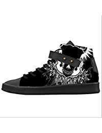 Dalliy Cool Skull Women's Canvas shoes Schuhe Footwear Sneakers shoes Schuhe