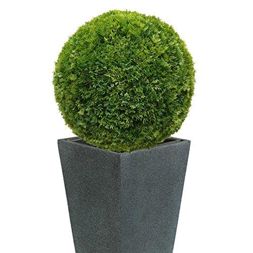 40 cm Ø künstliche Thuja – Buchsbaumkugel, sehr natürlich wirkend