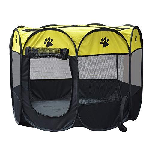 YOCC Indoor Hundezelt, abnehmbar/Oxford-Tuch/Faltbare warme Gartenhäuser für Kennel für Kätzchen...