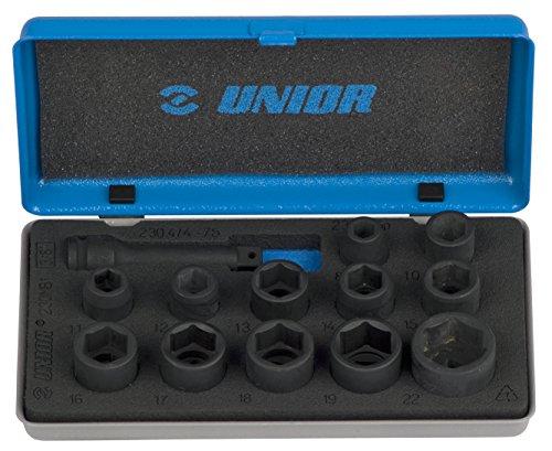 Unior 9612590 Douilles à Choc, 3/20,3 cm, 8-22 mm