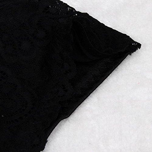 Malloom Dames Femmes Spandex Pantalons élastiques Sous-Vêtements De Sécurité Noir