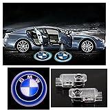 Inlink 2 x Wireless LED SMD Einstiegsbeleuchtung Laser Projektor Logo Door Shadow LED Logo 3D Laser Licht Projector Willkommen Licht Welcome Light für BMW E90 E91 E92 E93 E70 E71 E60 E61 F10 F11 E63 E64 F01