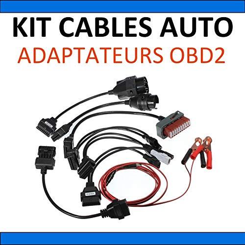 Preisvergleich Produktbild MISTER DIAGNOSTIC KFZ-Kabel-Set,  Diagnoseadapter,  OBD,  kompatibel mit AutoCom und Delphi CDP + DS150E