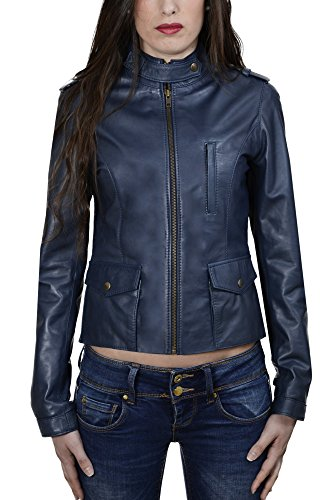 pellein-leather-jacket-women-winter-savona-size-44-blue