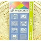 Matilda del propio Premium 100% puro bambú de bateo/relleno