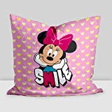 "Best Disney Cots - Disney ""Minnie smile"" Digital Printed Cushion Filled Review"
