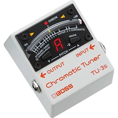BOSS tu-3s Chromatic Guitar Tuner Pedal