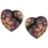Jazz Multicolor Meenakari Stud Earrings ...