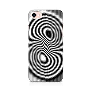 PRINTASTIC 102_PTV2 Crazy Stripes APPLE Iphone-7 Back Case/Cover -Amazing colors & long lasting prints, High-resolution, Matte Finished and soft to touch, 3D Printed, Polycarbonate Material, Scratch resistant, Water resistant, Dust resistant, Fadeproof Mobile Hard Back Case/Covers