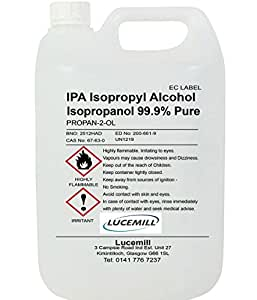 isopropyl alcohol 99 9 pure ipa isopropanol various. Black Bedroom Furniture Sets. Home Design Ideas