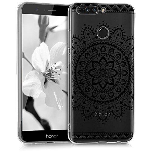 kwmobile Huawei Honor 8 Pro Hülle - Handyhülle für Huawei Honor 8 Pro - Handy Case in Schwarz Transparent