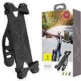 Baseus Miracle Bicycle - Soporte para Bicicleta para Smartphones (Negro)