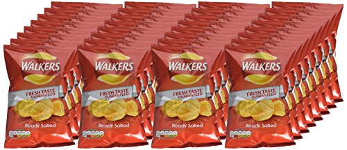 Walkers Ready Salted Crisps Case...