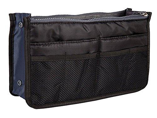 YARBAR Femmes Bolsas Zipper Casual Multi Function Voyage Sacs cosmétiques Noir