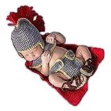 maglieria a mano Neonato Fotografia Props Prima infanzia Abbigliamento uncinetto Cappelli Pantaloni mantello scarpa