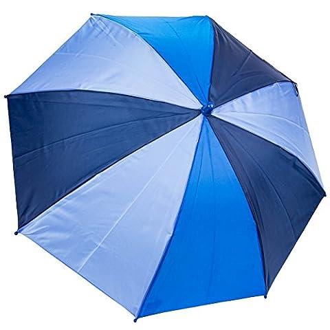 Dr. Neuser Bunter Kinder Regenschirm Umbrella Stockschirm Schirm Kinderschirm, Farbe:Blau