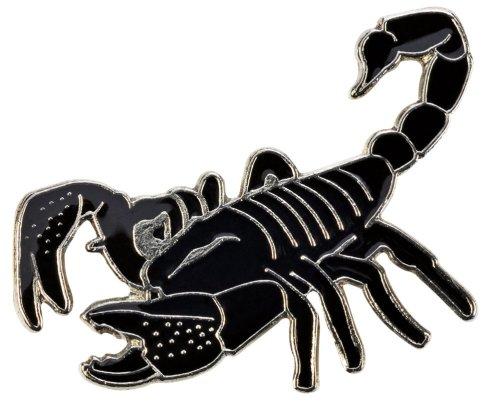 Blue Bug Ansteckpin Skorpion