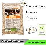 Pellet TIMBORY by PFEIFER 100% Abete - Qualità ENPLUS A1 - Alto potere calorifico (20)
