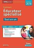 Concours Educateur spécialisé - Tout-en-un Concours 2018...