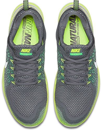 Nike Herren Men's Free RN Distance 2 Running Hallenschuhe Mehrfarbig (Stealth/Off White-Dark Grey)
