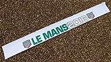 LE MANS 24 STUNDEN 2016 & KLASSISCH Sonnenblende Streifen Blende oben sticker aufkleber