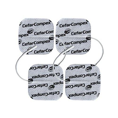 Compex Electrodos Wire Wire 5X5 Cable Azul