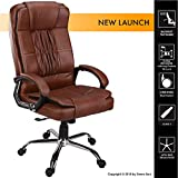 #8: Green Soul Madrid High Back Office Chair (Brown)