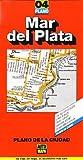 Mar del Plata City Map, Argentina (Spanish Edition)