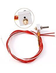 Brolux(TM) Partes de la impresora 3D de cama PCB Heatbed MK2b calor 12/24 Dual Power Plate caliente 214x214mm M¨®dulo