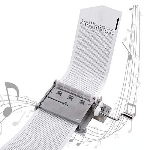 Zyfun Caja música Movimiento Cintas 30 Notas Manivela