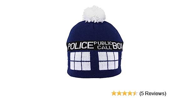 Doctor Who  TARDIS POM BEANIE  Amazon.co.uk  Electronics 641aef78aa28