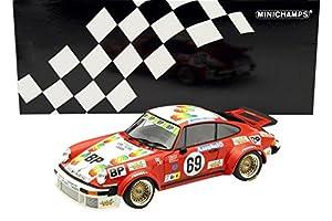 Minichamps 153786469-Vehículo en Miniatura-Porsche 934-24H Le Mans, 1978, Rojo/Blanco, (Escala 1/18