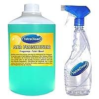 Tetraclean Multipurpose Tulsi Fragrance Air Freshener With Free Spray Bottle (1100ml)
