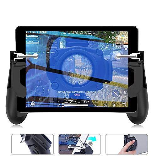 Perfuw Mobile Game Controller für IPad, Tablet Handy Spiel Löst Sensibles Schießen Und Zielen Aus Gamepad Joysticks Triggers für PUBG/Knives Out, Passend für 4,7-12,9 Zoll Tablet & Smartphone (1 Paar)
