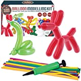 "Global Gizmos 55010 ""Classic Balloon Animal Modelling Kit including Pump"" Toy"