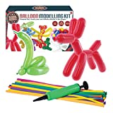"Global Gizmos 55010 ""Classic Balloon Animal Modelling Kit including Pump"" Toy - Global Gizmos - amazon.co.uk"