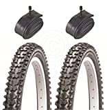 Vancom 2 Bicycle Tyres Bike Tires - Mountain Bike - 26 x 1.95