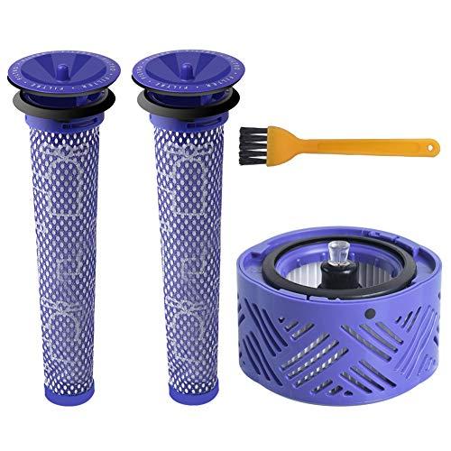 ABClife HEPA-Nachfilter-Kit V6 & 2 Vorfilter V6 V7 V8, Ersatzfilterkit für Dyson V6 Animal und Absolute Akku-Vakuum, Ersatz-Vorfilter und Post-Filter Cordless Staubsauger # DY-966912-03 (4 Stück) …