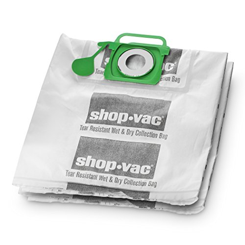 Vac Wet/Dry reißfest Collection Filter Staubbeutel, 9021533 (Bag Collector Dust)