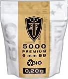 ELITE FORCE PREMIUM BIO BB Softairkugeln weiß 6mm 0,20g 5000 BBs
