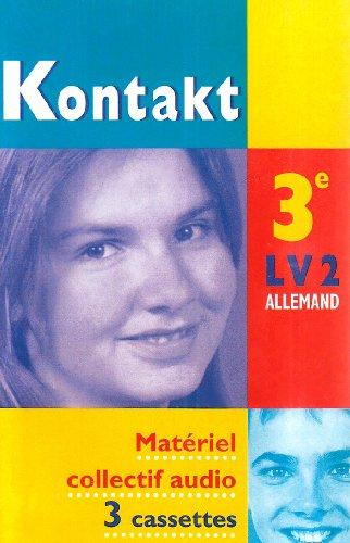 Kontakt : 3ème LV2, pour la classe (coffret 3 cassettes)