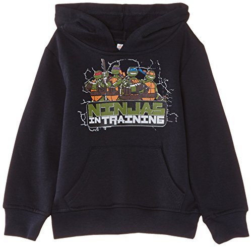 Nickelodeon Jungen Sweatshirt Teenage Ninja Mutant Hero Turtles NH1208, Gr. 98 (Herstellergröße: 3 ans), Blau (Marine Blue) (Blue Turtle Ninja)