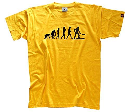 shirtzshop-t-shirt-pour-homme-xxxl-jaune-noir-jaune
