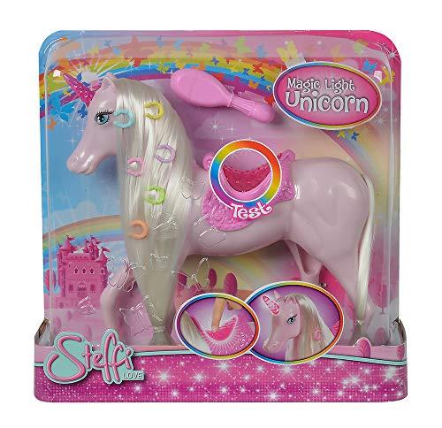 Simba 104663204 - unicorno magico con luce
