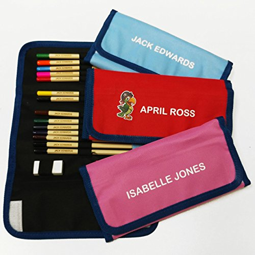 Personalised Colouring Pencils & Case Test