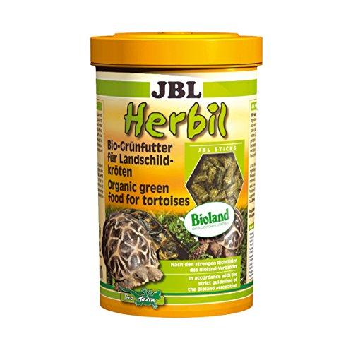 JBL Herbil 70453 Bio-Grünfutter für Landschildkröten, 1er Pack (1 x 1 l)